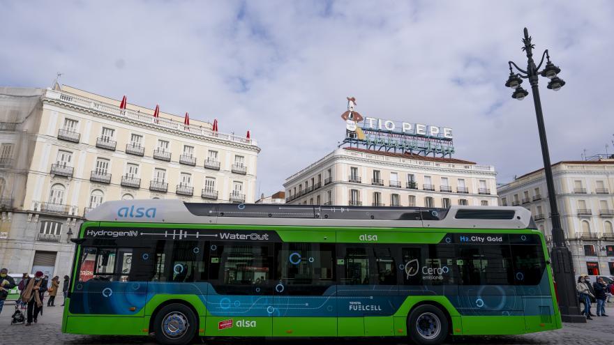 Autobús hidrógeno pionero