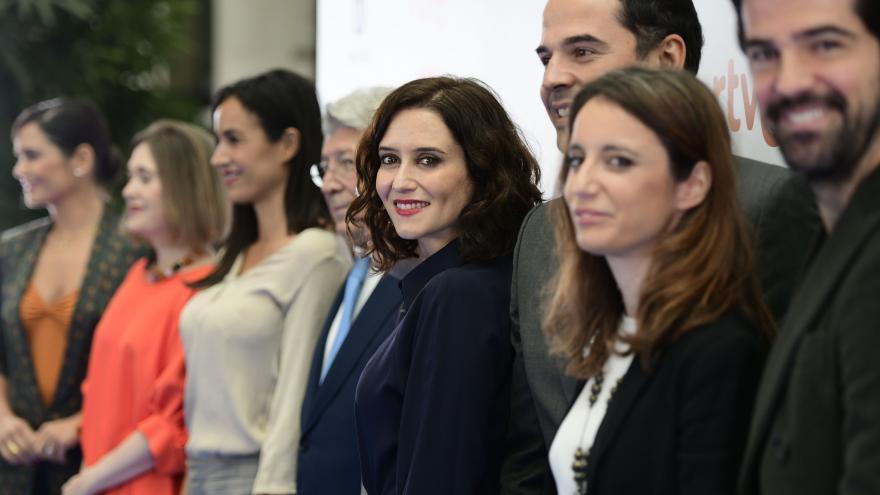 La presidenta clausura la ceremonia de presentación de los XXV Premios José María Forqué