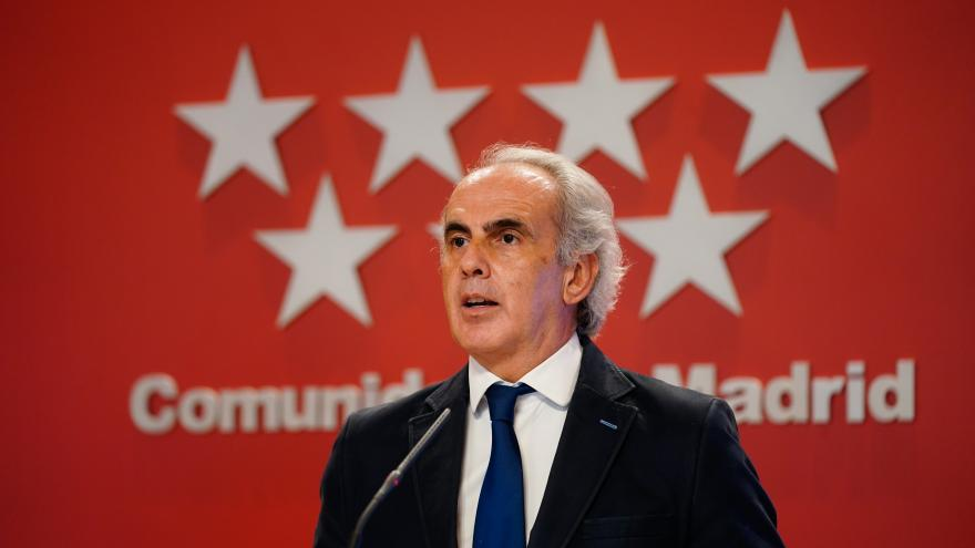 Enrique Ruiz Escudero, en rueda de prensa