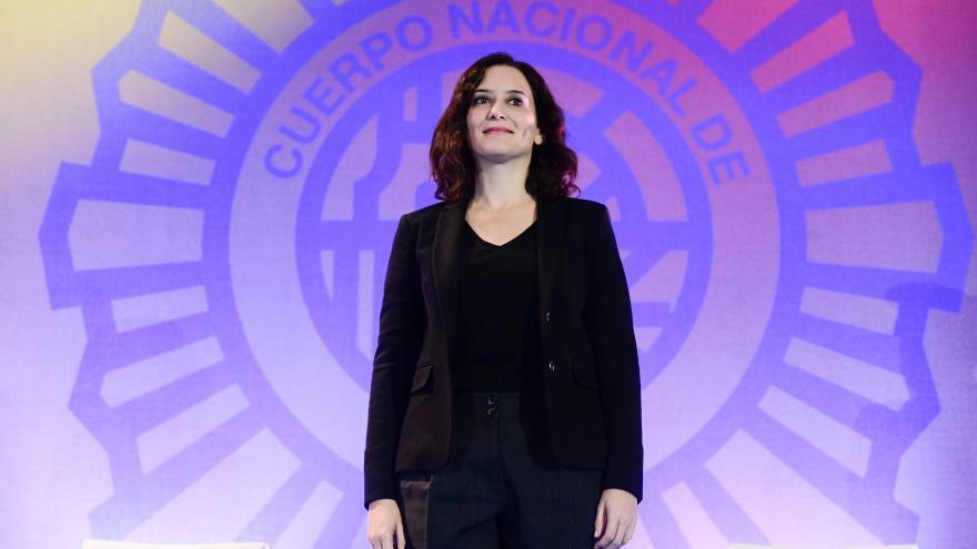 Díaz Ayuso en el Día de la Policía con motivo de la festividad de los Santos Ángeles Custodios