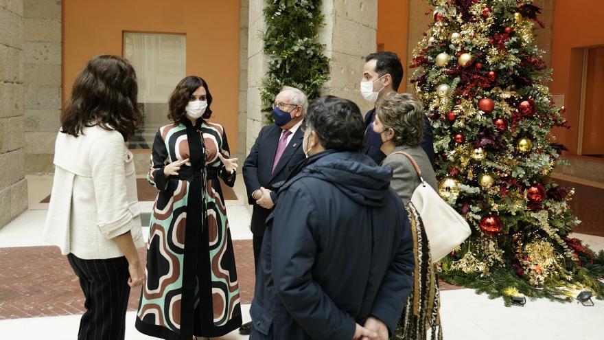 Inauguración Belén Puerta del Sol