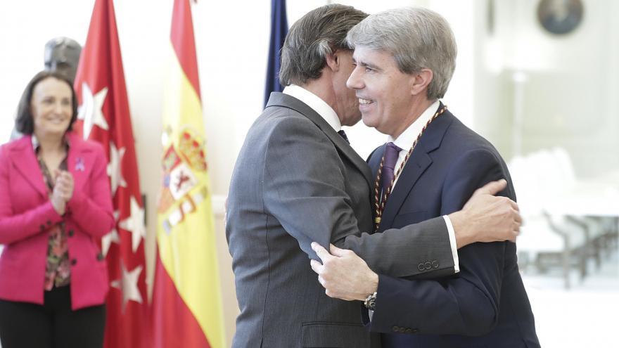 Garrido recibe la Medalla de Honor de Oro del Colegio de Procuradores de Madrid