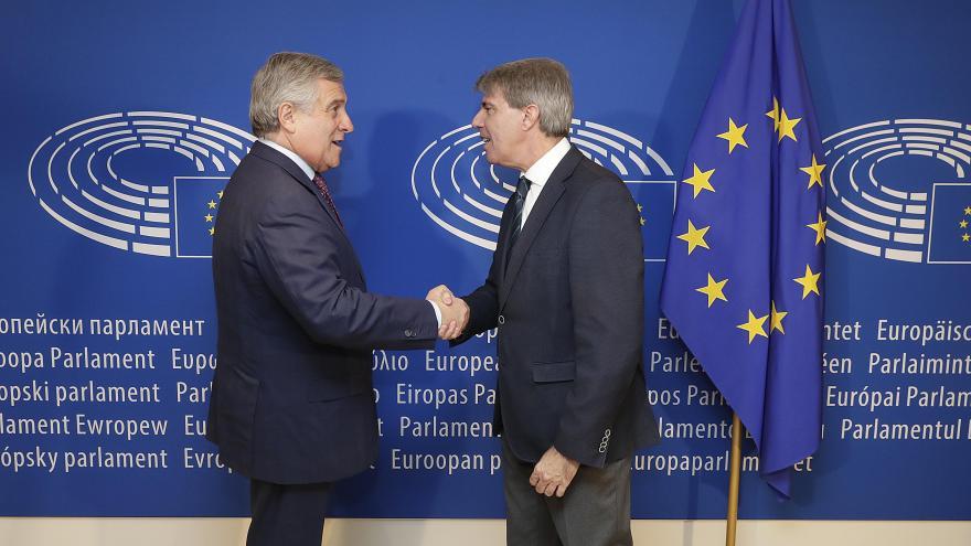 El presidente de la Comunidad se ha reunido hoy en Bruselas con el presidente del Parlamento Europeo