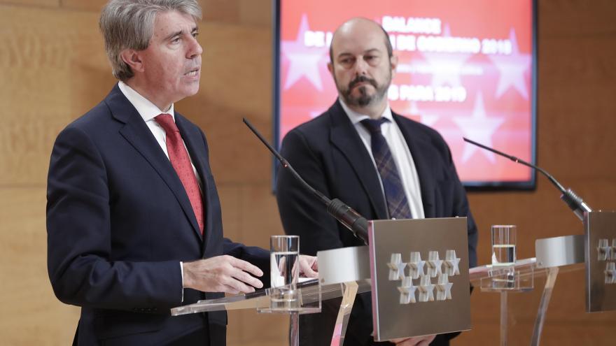 Ángel Garrido y Pedro Rollán
