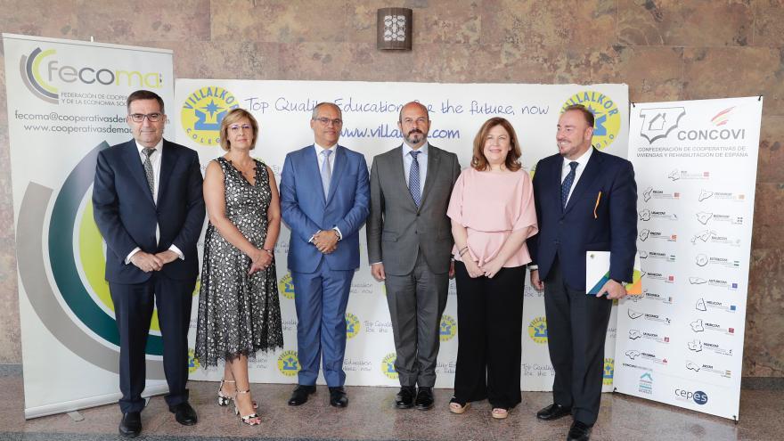 Pedro Rollán participa en el Día Internacional de las Cooperativas