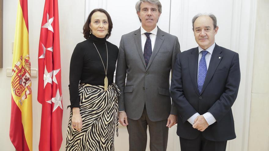Ángel Garrido se reúne con el nuevo presidente del TSJM