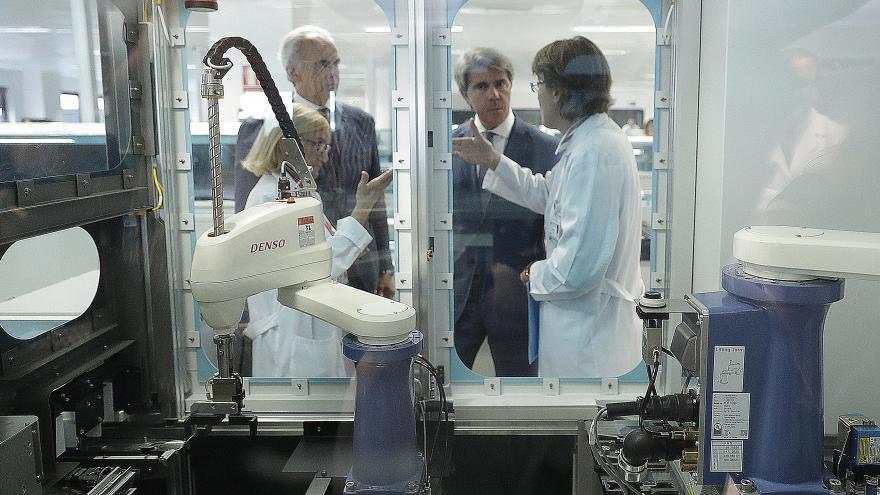 El presidente de la Comunidad de Madrid, Ángel Garrido ha presentado la culminación del proyecto de remodelación del Hospital Universitario 12 de Octubre