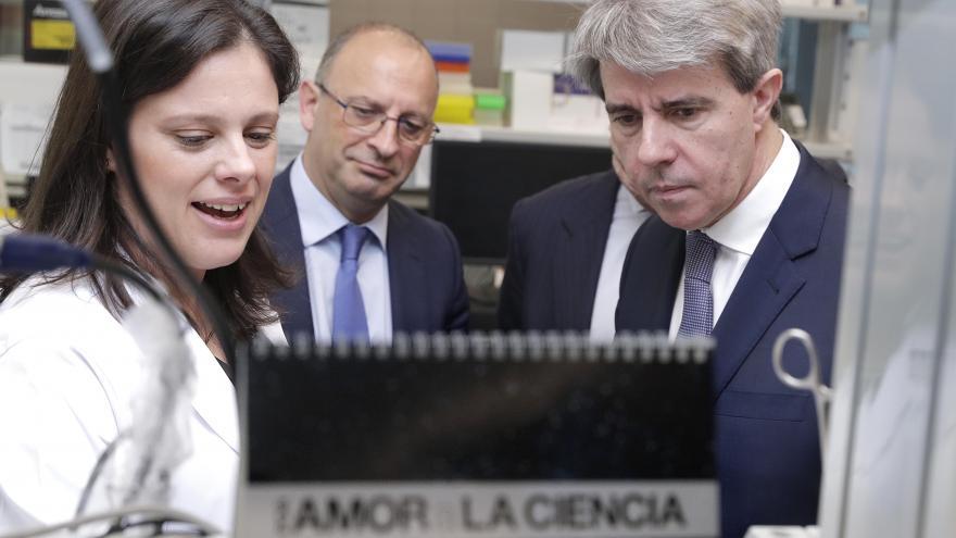 Ángel Garrido durante la intervención