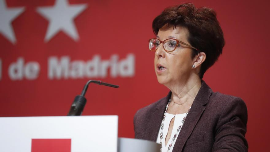 La Directora General de Salud Pública, Elena Andradas