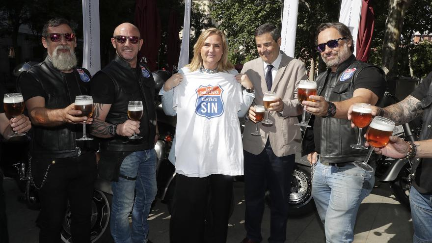 Gonzalo participa en la presentación de la XVIII edición de la campaña 'En la carretera, cerveza SIN'