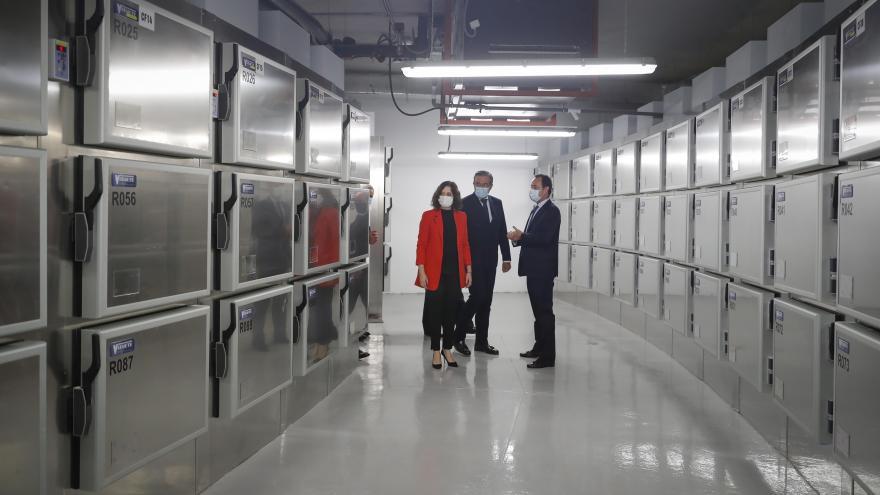 Díaz Ayuso inaugura el IML