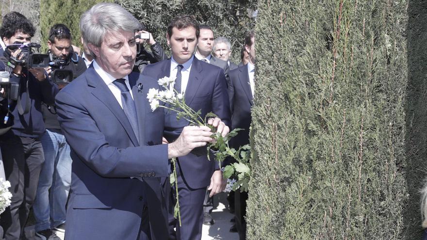 Garrido en la conmemoración del Día Europeo de las Víctimas del Terrorismo