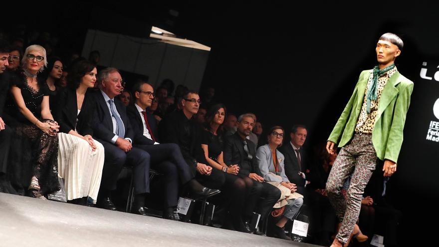 Diaz Ayuso durante la entrega de premios