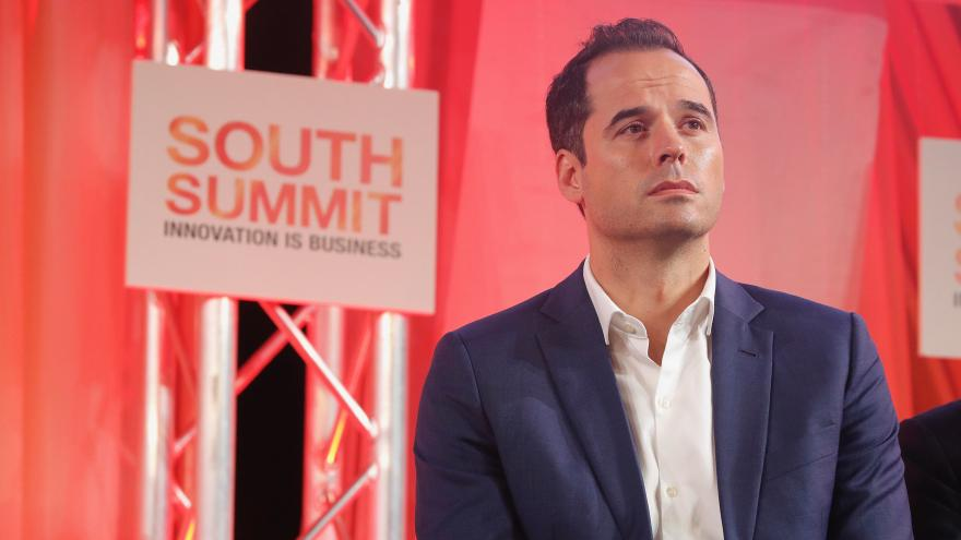 Ignacio Aguado durante el South Summit Madrid