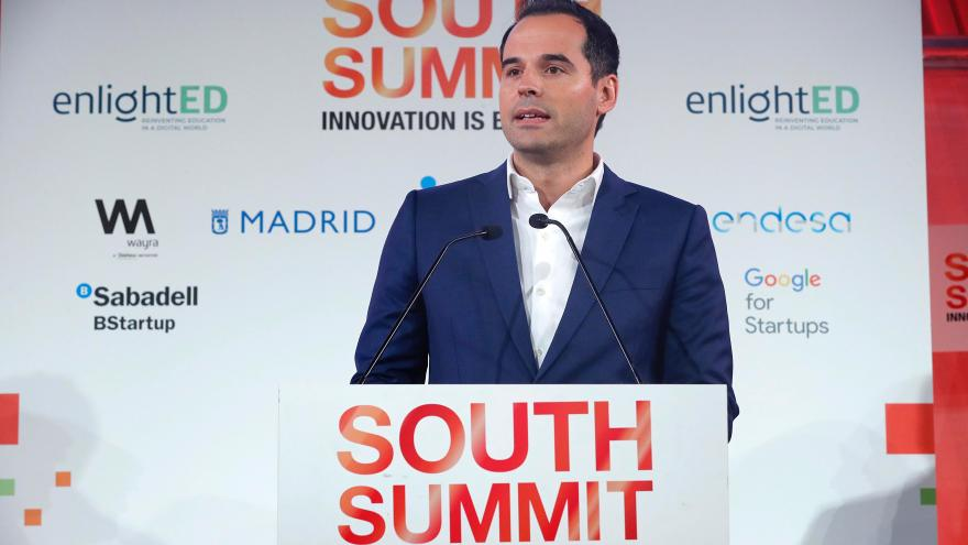 Ignacio Aguado interviene en el South Summit Madrid