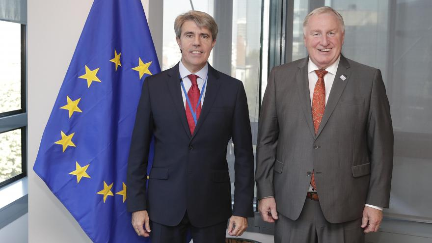Ángel Garrido y Karl-Heinz Lambertz