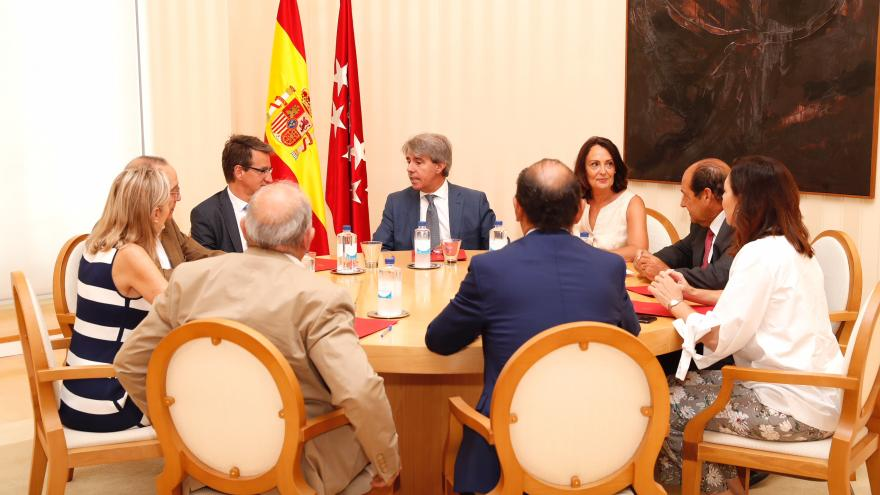 El presidente regional se ha reunido con la junta directiva del Colegio Nacional de Letrados de la Administración de Justicia