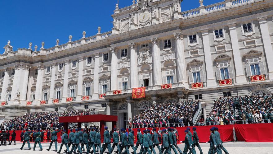 Rollán asiste al acto conmemorativo del 175º aniversario de la fundación de la Guardia Civil
