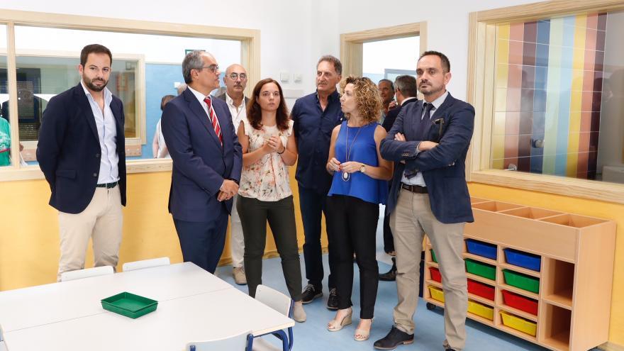 El consejero de Educación e Investigación ha visitado estas nuevas instalaciones, que comenzarán a funcionar este curso