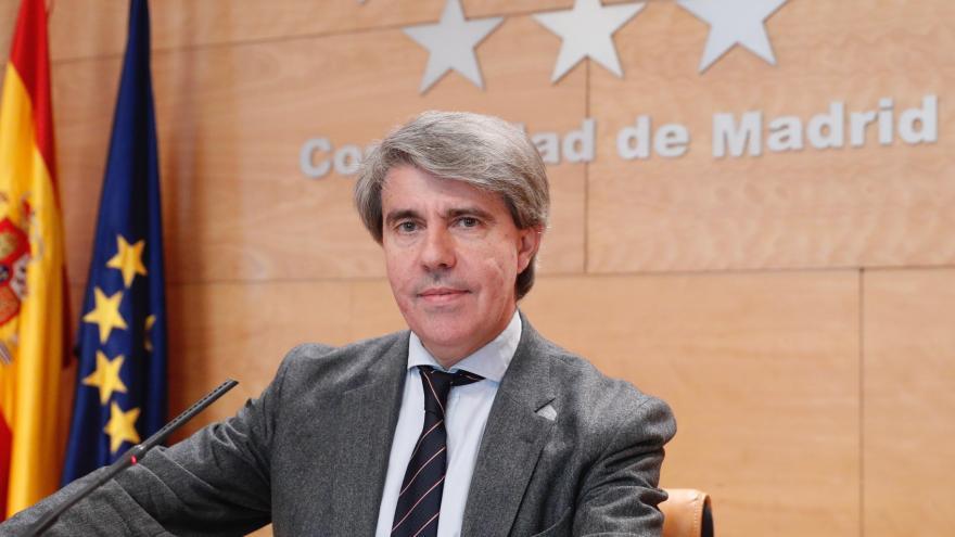 Ángel Garrido comparece en rueda de prensa para dar cuenta de los acuerdos adoptados en el Consejo de Gobierno