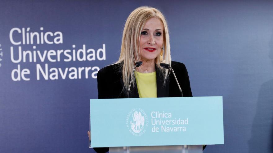 Cifuentes participa en la inauguración oficial de la sede de la Clínica Universidad de Navarra en Madrid