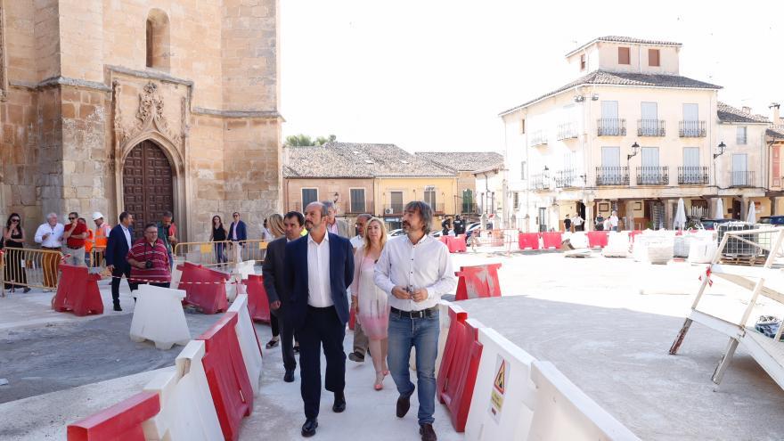 Pedro Rollán visitando Torrelaguna