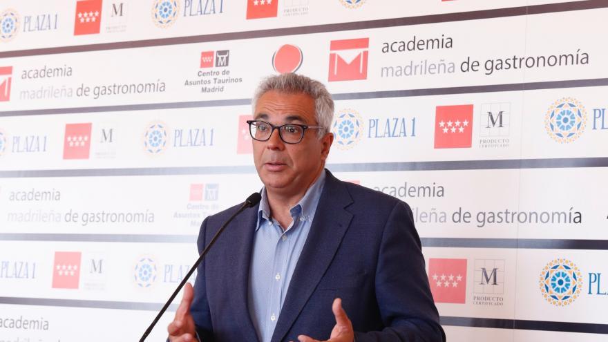 Carlos Izquierdo durante la presentación de la nueva edición