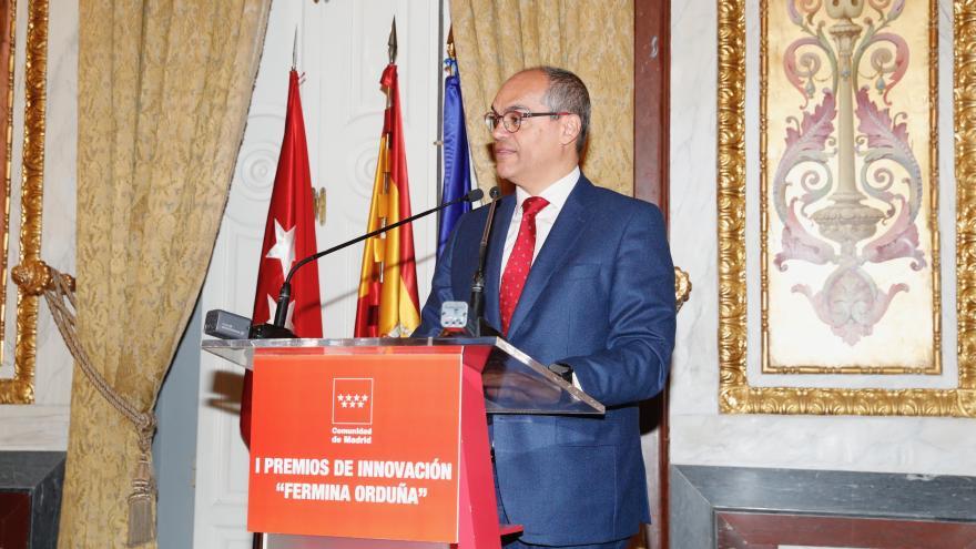 Van Grieken durante su intervención