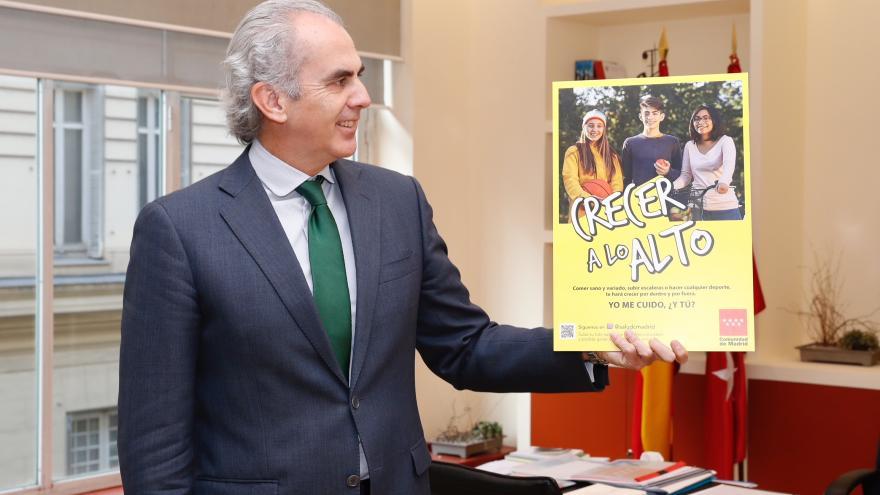 Ruiz Escudero durante la visita