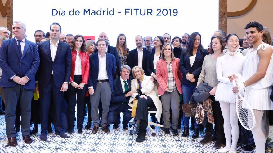 El presidente regional, Ángel Garrido, en la celebración del Día de Madrid en FITUR 2019