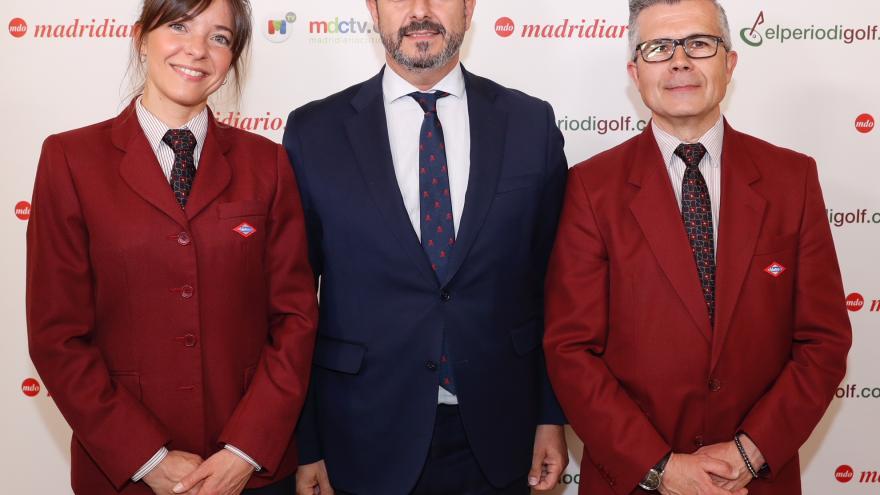 Rollán, en la entrega de los XVII Premios Madrid que organiza Madridiario