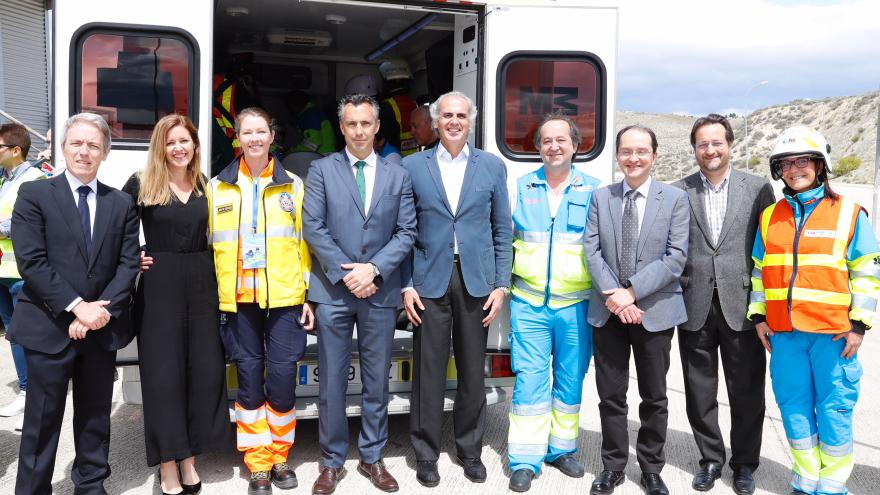 El SUMMA 112 organiza un simulacro de accidente con múltiples víctimas para visibilizar la labor de los Técnicos de Emergencias Sanitarias