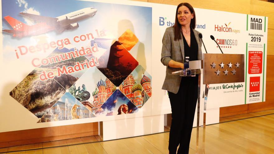 Lola Moreno en la presentación de la nueva edición de este programa
