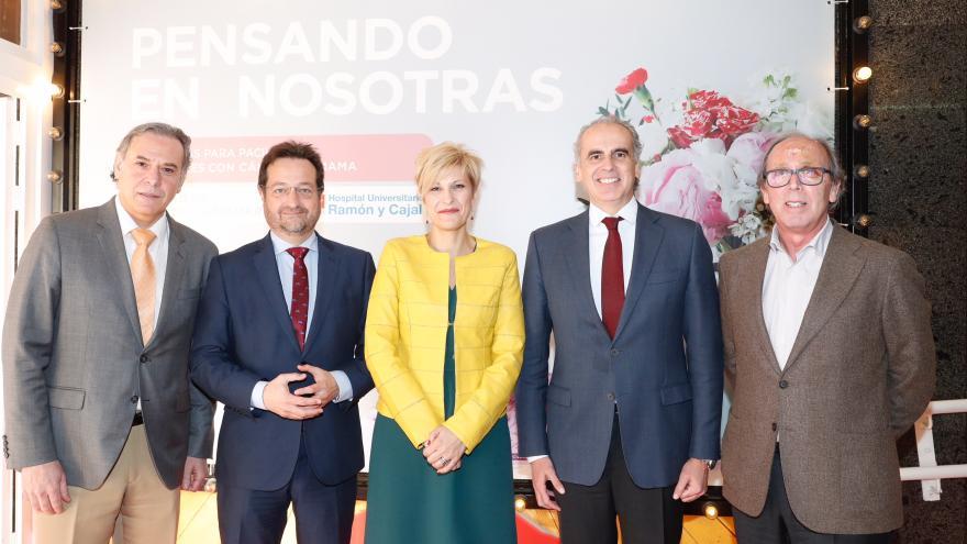 Enrique Ruiz Escudero durante VIII Jornadas de Divulgación para Pacientes y Familiares con cáncer de mama