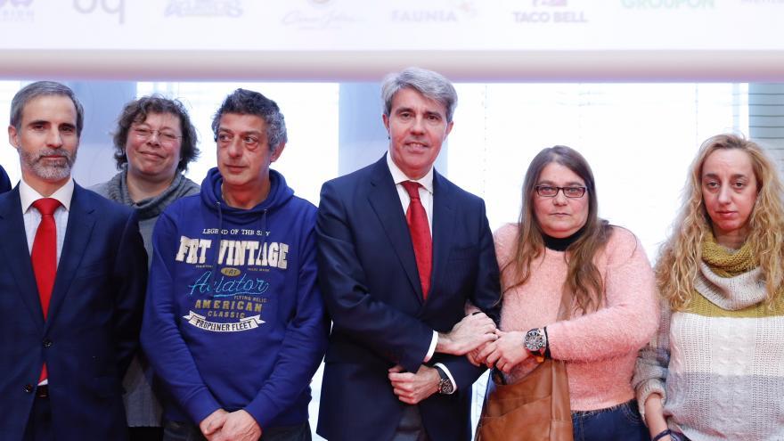 Ángel Garrido durante la presentación de la la App 'Contigo'