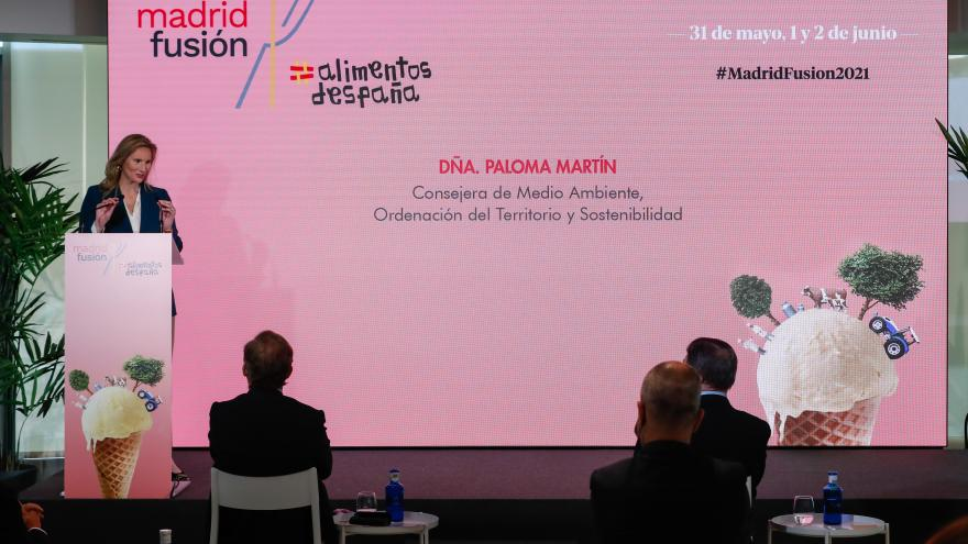 Paloma Martín ha participado en la presentación oficial de Madrid Fusión 2021
