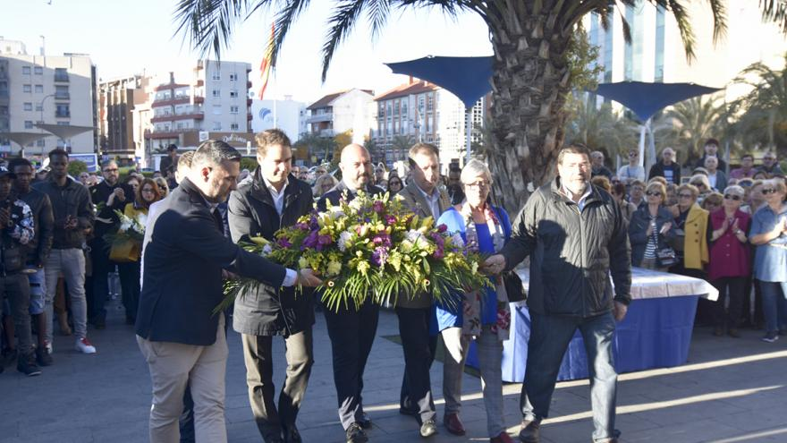 Rollán participa en el acto de homenaje a las víctimas del 11-M en Torrejón de Ardoz