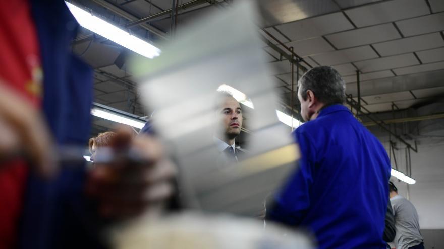 Aguado y Gimenez visitan el centro de FP para el empleo