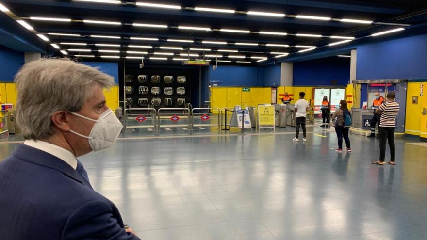 Ángel Garrido en Metro de Madrid