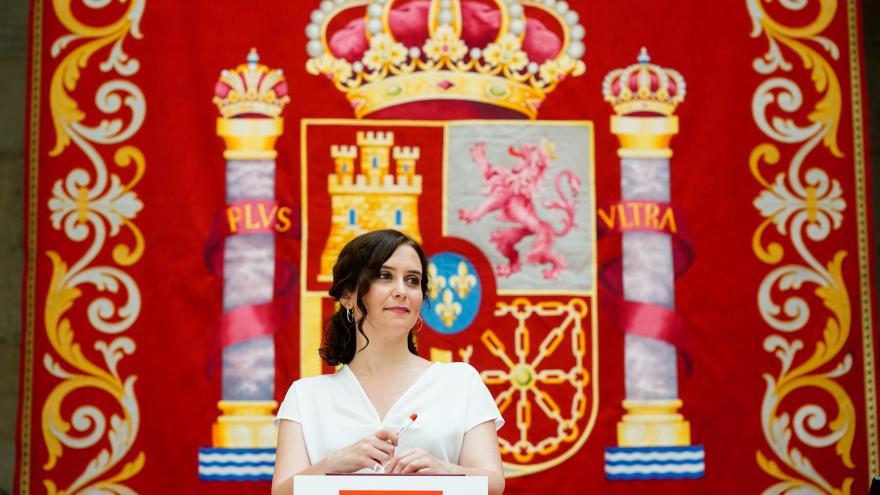 Isabel Díaz Ayuso hace balance del primer año del Acuerdo de Gobierno