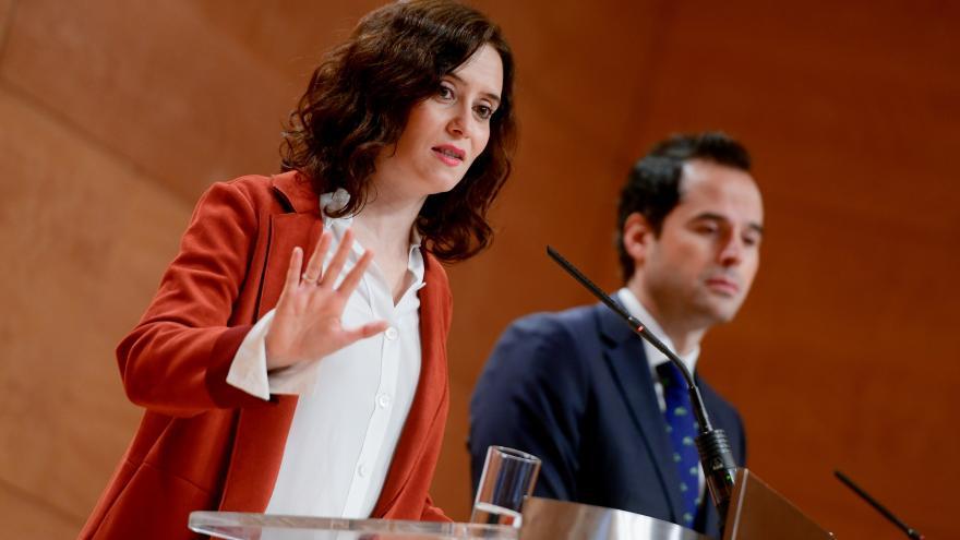 Isabel Díaz Ayuso realiza una comparecencia pública tras el primer Consejo de Gobierno del año 2020