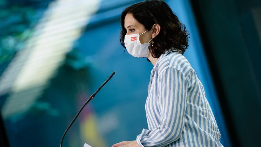 Díaz Ayuso contratos sanitarios