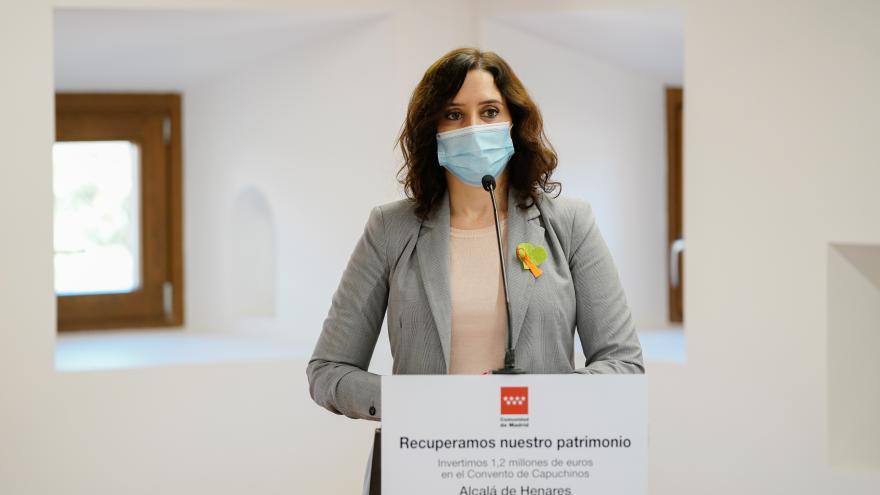 Díaz Ayuso en Alcalá de Henares