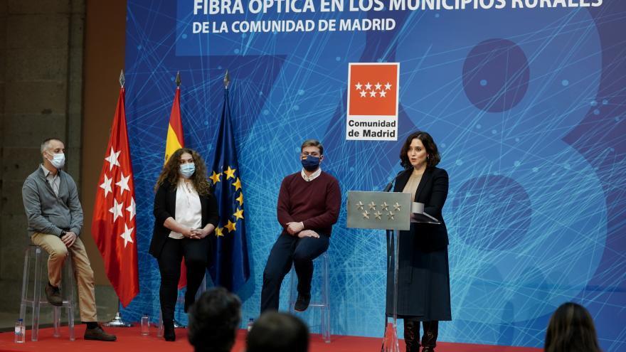 Díaz Ayuso fibra óptica