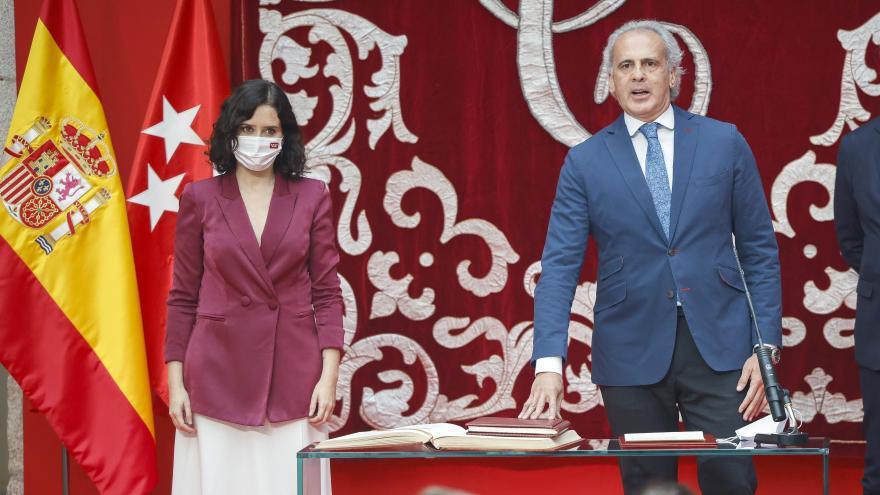 Díaz Ayuso y Escudero