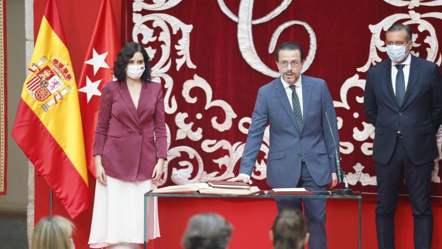 Díaz Ayuso y Lasquetty