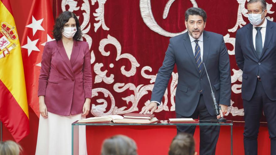 Díaz Ayuso y Pérez