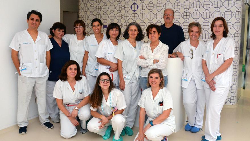 equipo de trasplantes