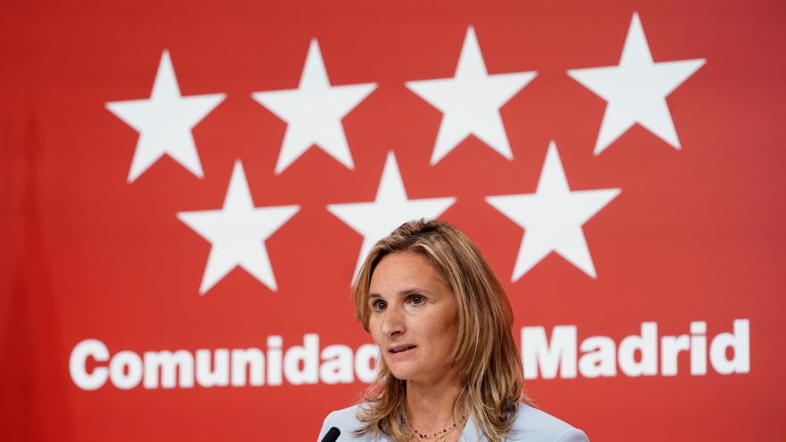 Primer plano de la consejera Paloma Martín