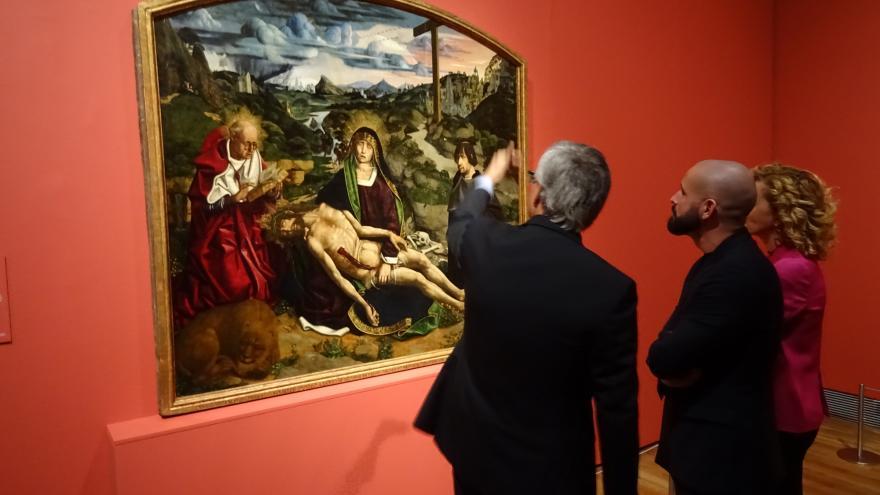 El consejero de Cultura, Turismo y Deportes, Jaime de los Santos, ha asistido a la presentación de la muestra en el Museo del Prado
